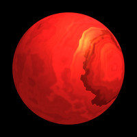 scifi red smooth sphere shader AA14537.TAR