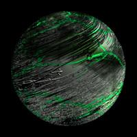 scifi wrinkled black sphere shader AA14823.TAR