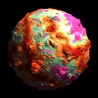 multi-colored bumpy shader AA15001.TAR