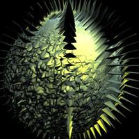 scifi spiked yellow shader AA15031.TAR