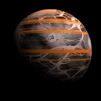 scifi striped sphere shader AA15043.TAR
