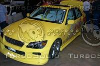 Yellow Lexus.JPG
