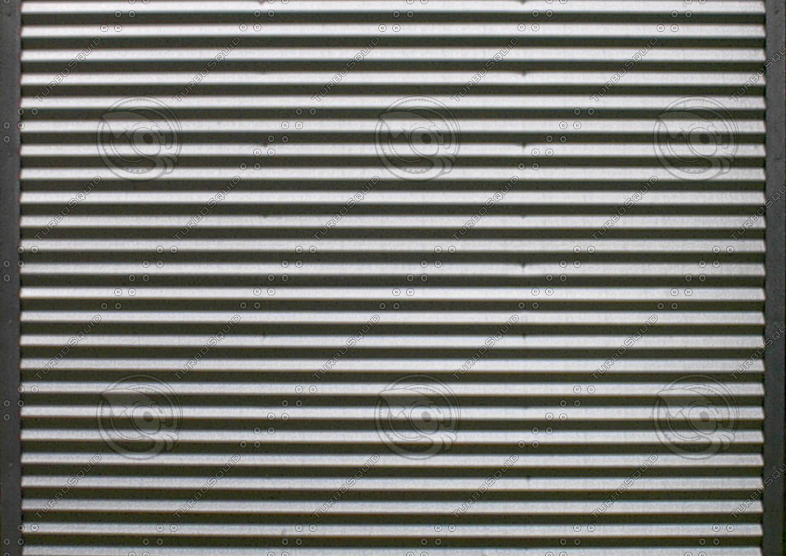 Texture Other Sheet Metal Corrugated