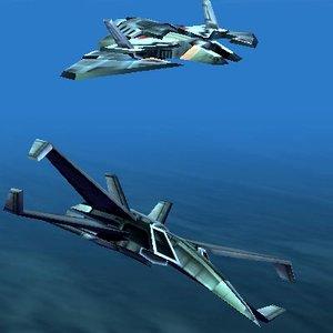 Screen-saver-Sci-Fi-Fighters