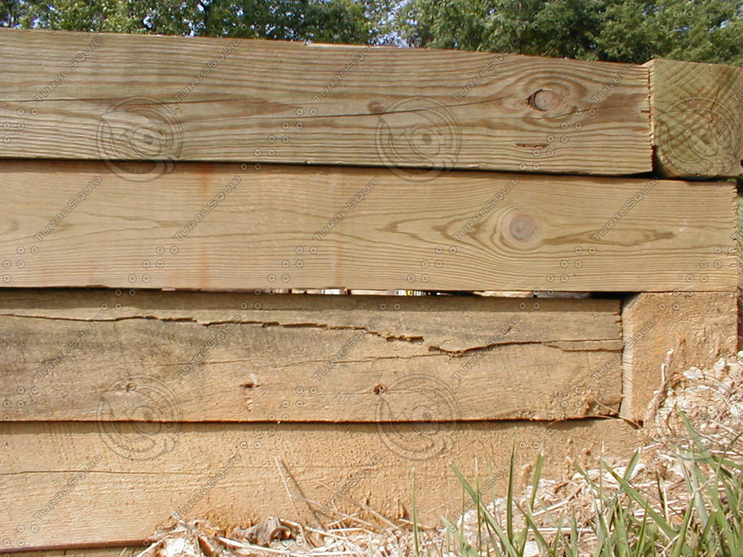 outdoor landscaping timber stock photo