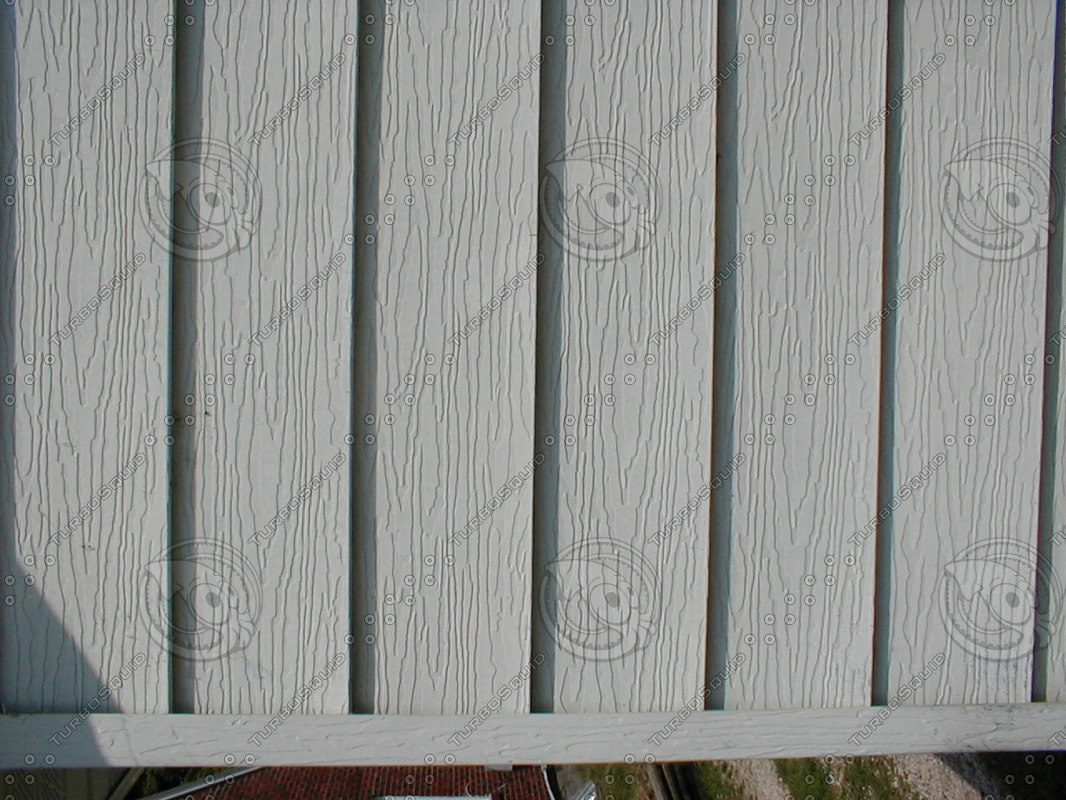 Steel Siding Stock Photo
