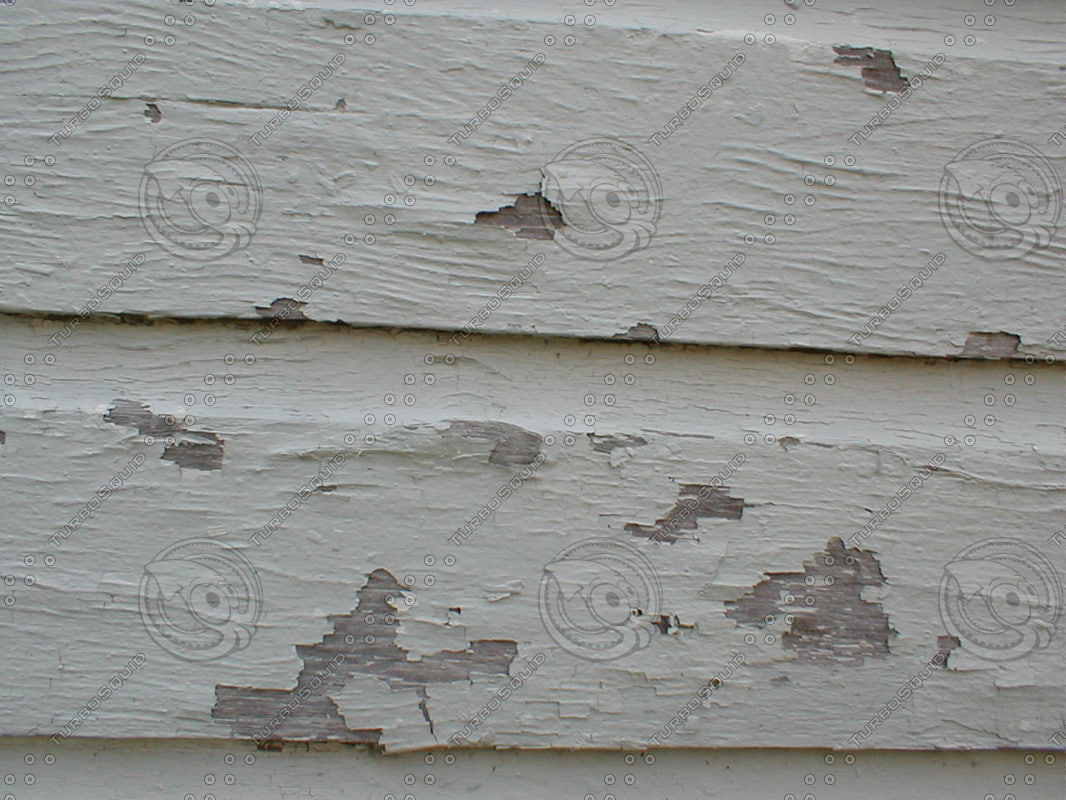 Wood 0934 Paint Chipped Wood Pattern Stock Photo