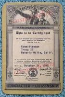 Card, Boy Scouts, Vintage.JPG