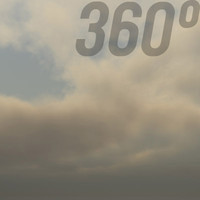 360° Sky Texture: Overcast