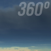 360° Sky Texture: Stormy Weather