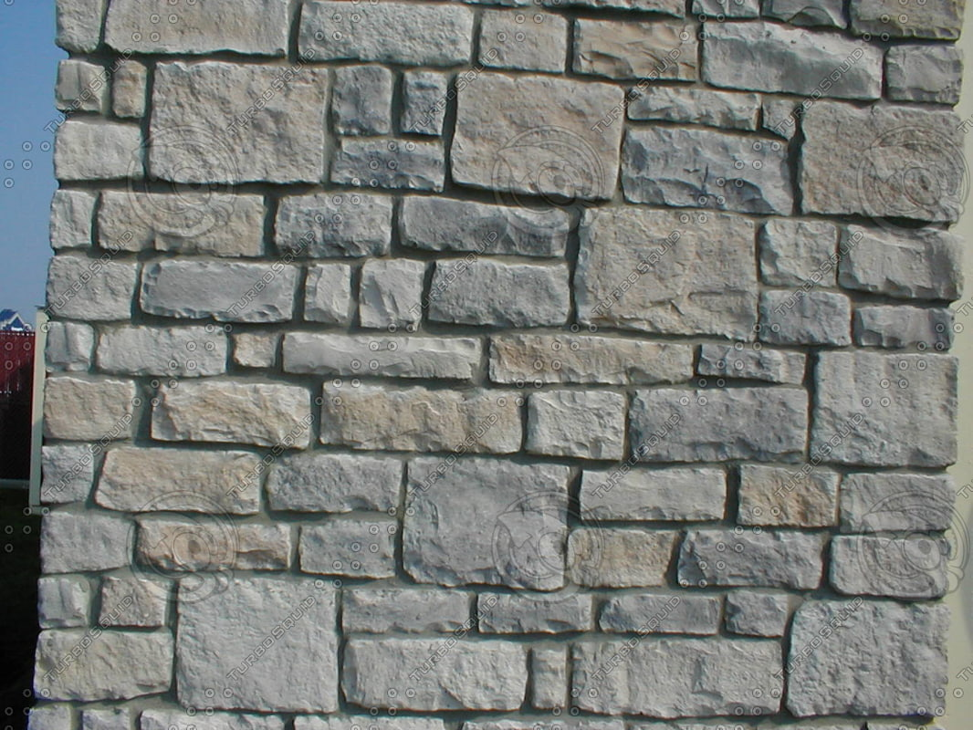 Stock Photo of Stone Bricks on a wall