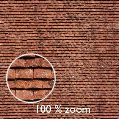 Old Flat Roof Tiles  High Resolution