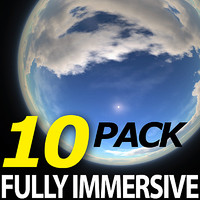 Fully Immersive 360° Sky Backgrounds