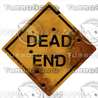dead end sign.zip