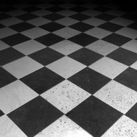 Black and whiteTiled Floor.zip