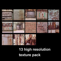 High resolution texture pack