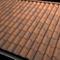 Modern Riveted Terra Cotta Roof Tiles High Resolution.JPG
