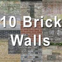 10 brick walls