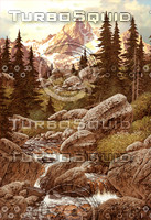 Stream in the Mountains / AF-009