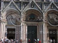 Entrance of Duomo, Siena 0429.JPG