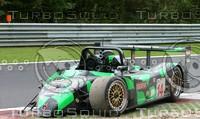 crashed Nasamax Le Mans Prototype Spa