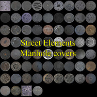 Street Elements manhole covers