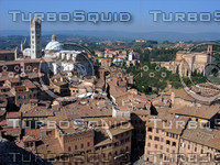 View from tower showing Duomo, Siena 0410.JPG