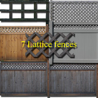 Lattice fence collection #1