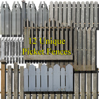 Picket fence collection #2