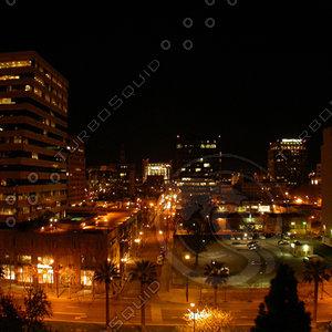 San Jose, CA City Panorama Panoramic