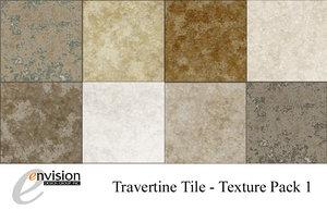 Travertine Floor Tile Textures