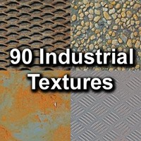 90 Industrial Textures Pack