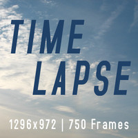 Real Afternoon Sky Timelapse (HD Res.)
