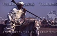 Morocco 131 Horseman at mousem.jpg