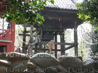 Orient 771 City bell, only one not melted during war.JPG