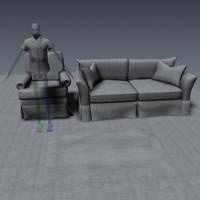 Texture: Interior - Grey/Blue
