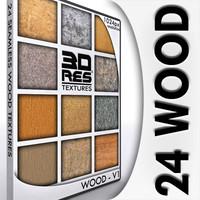 24 Wood Textures