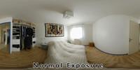 HDRI : Soft lighted Bedroom