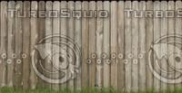 Wood fence #1