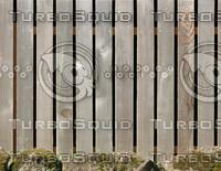 Wood fence #8