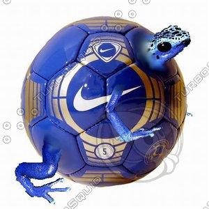soccer  ball frog