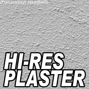 Plaster stucco wall