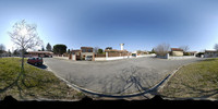 HDRI : french surburb street