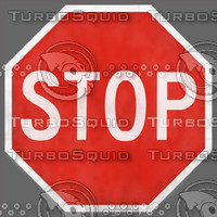 Stop Sign Texture