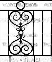 Wrought Iron Fence #3