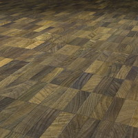 Cross-grained Indonesian Wood Floor  ----- High Resolution