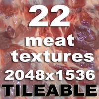 22 meat texture set