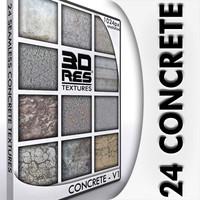 24 Concrete Textures