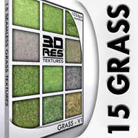 15 Grass Textures