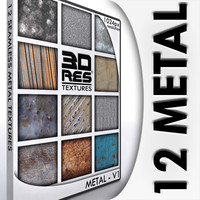12 Metal Textures